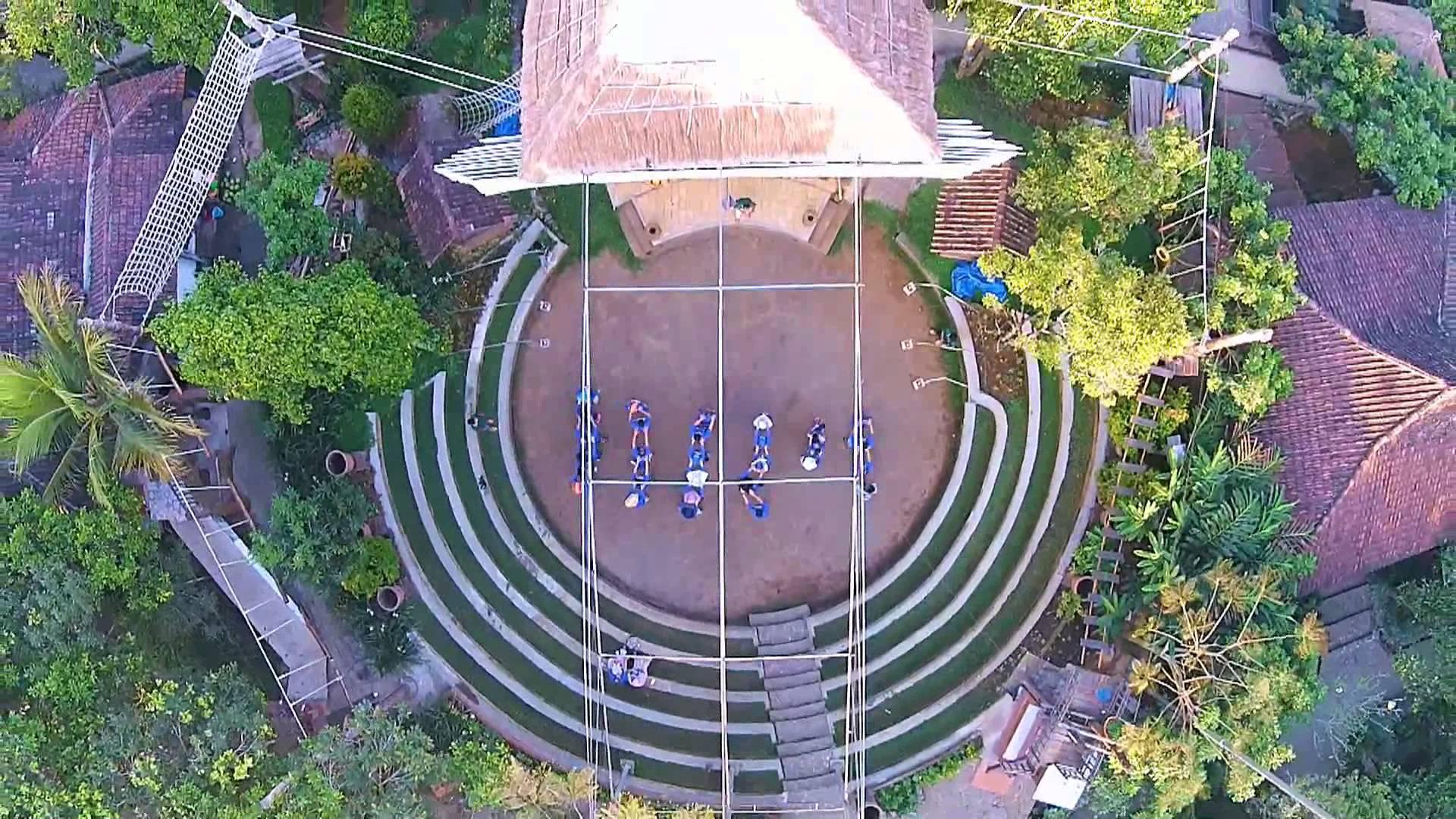 Kampoeng Djawi Bird View Kampung Jawi Youtube Kab Jombang
