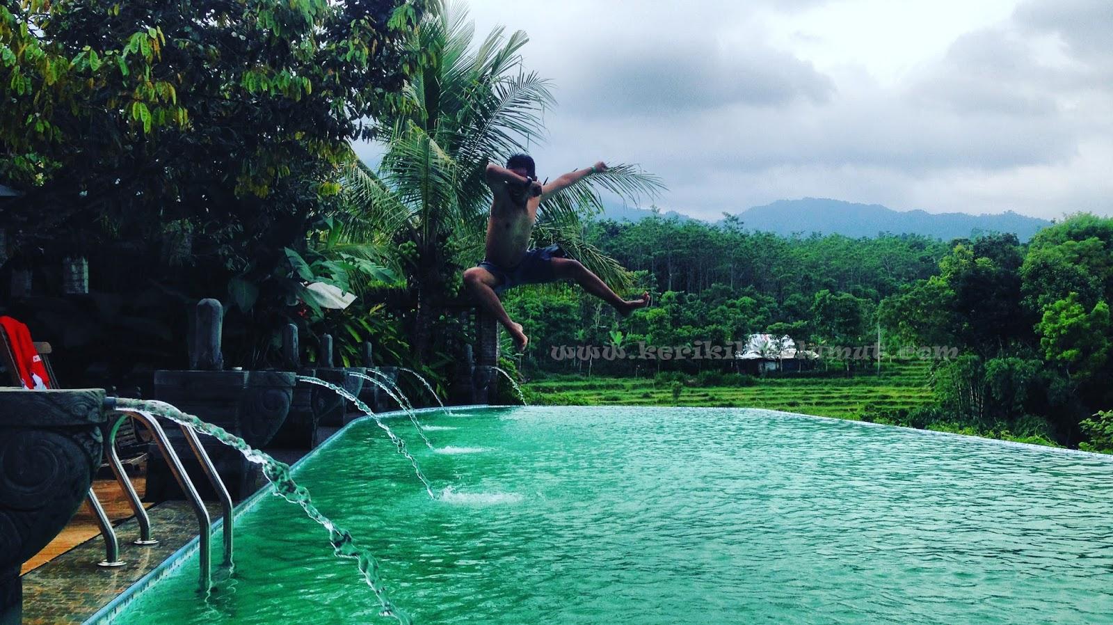 Kampoeng Djawi Sebuah Tempat Wisata Bernuansa Kampung Jawa Tempo Kolam