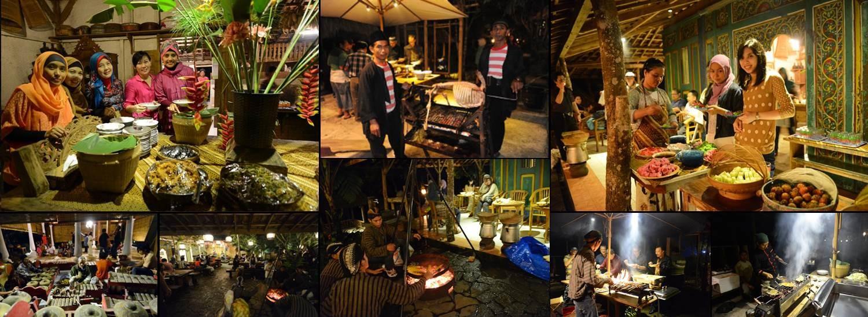 Kampoeng Djawi Tempat Outbound Kita Dibawah Suasana Hiburan Musik Kuliner