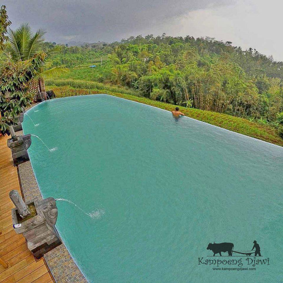 Kampoeng Djawi Wonosalam Villa Desaku Merubah Pandangan Kab Jombang