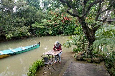 Keindahan Wisata Kampoeng Djawi Jombang Kab