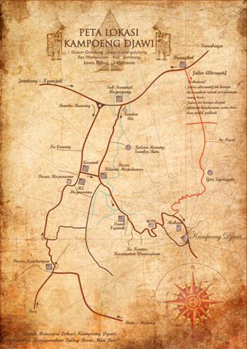 Kontak Alamat Peta Lokasi Kampoeng Djawi Kab Jombang