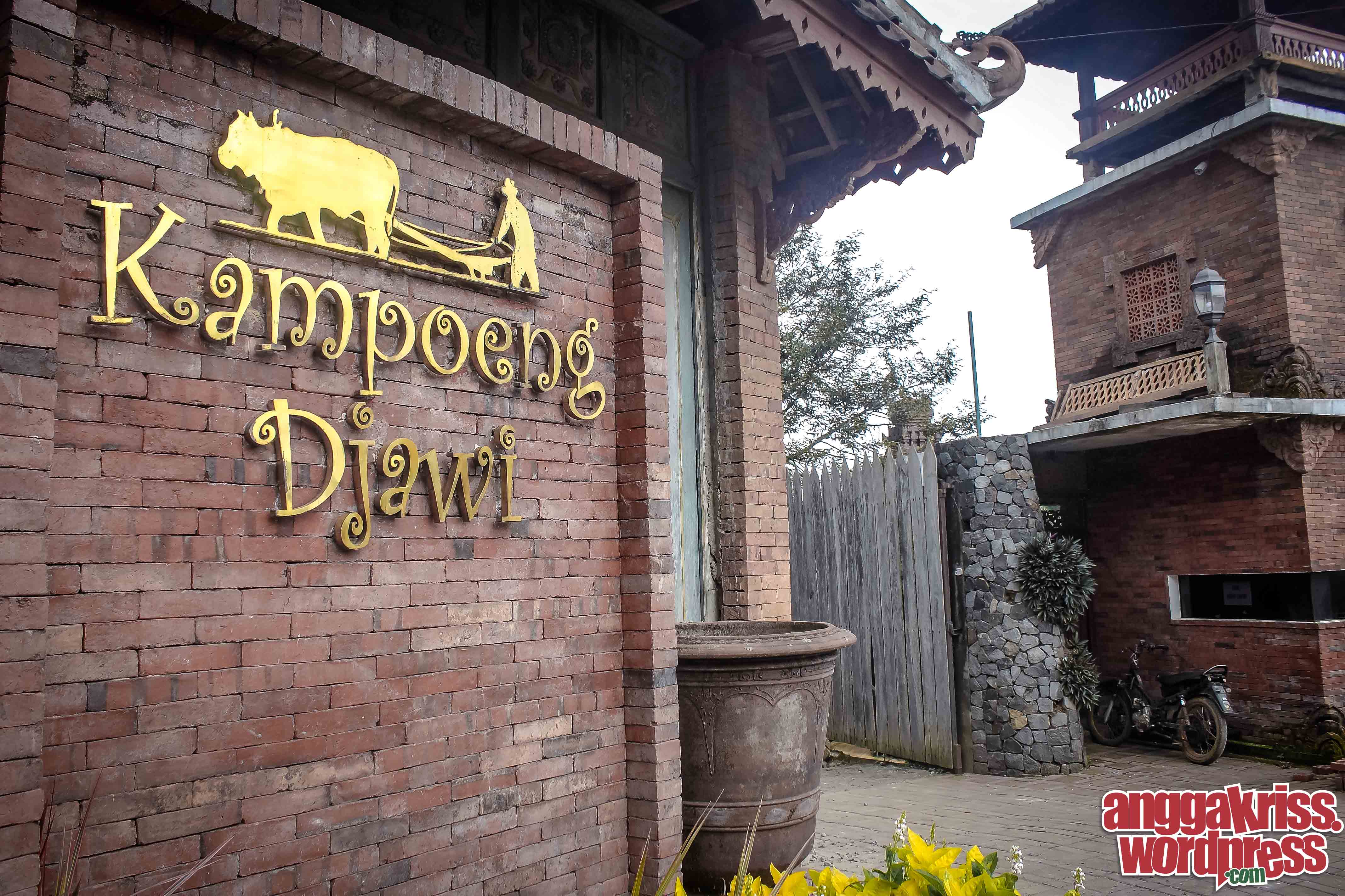 Menengok Kampoeng Djawi Wonosalam Anggakris Blog Kalian Tau Dimana Lokasinya