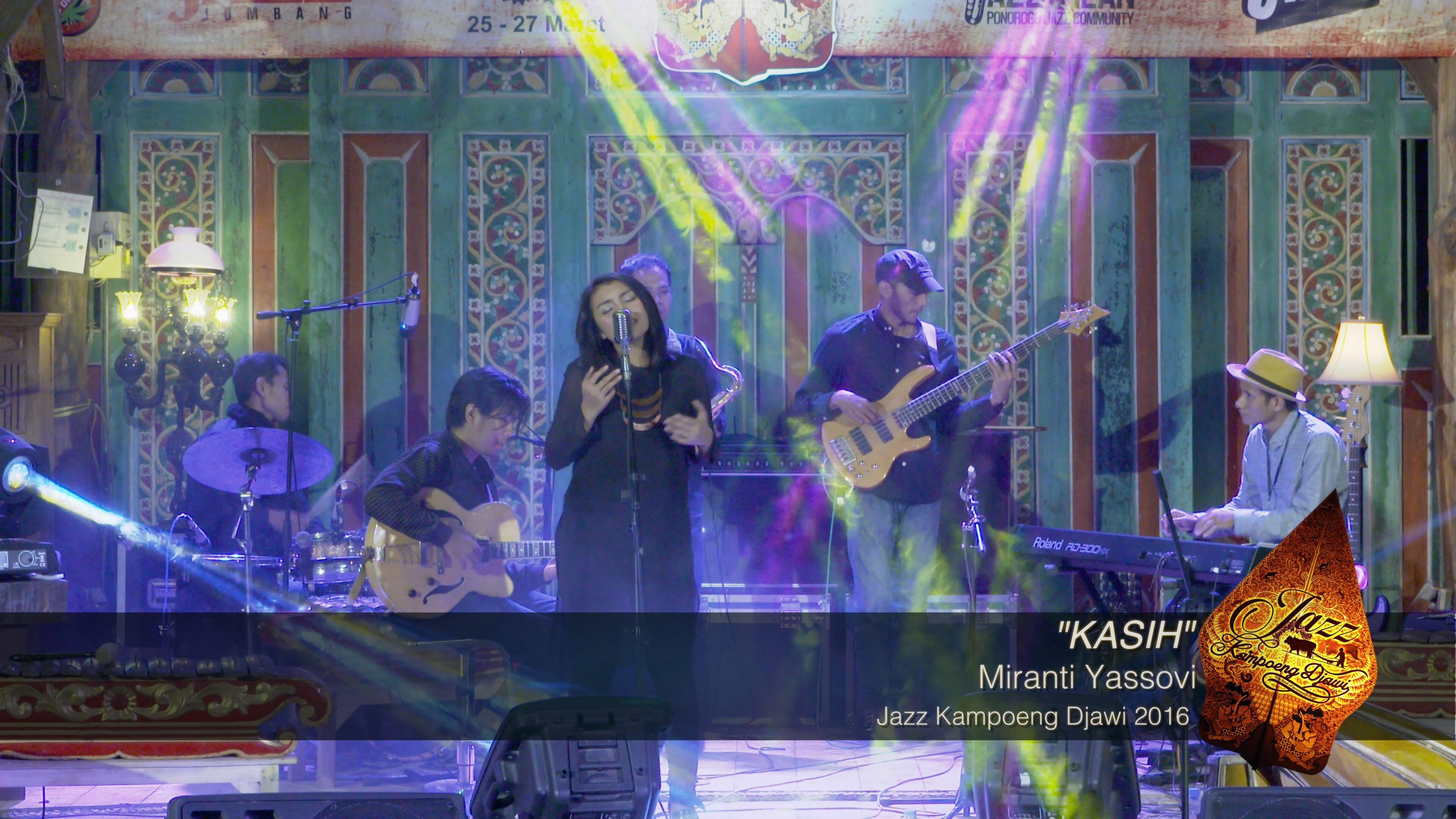 Miranti Yassovi Komunitas Jazz Jombang Kasih Kampoeng Djawi 2016 Youtube
