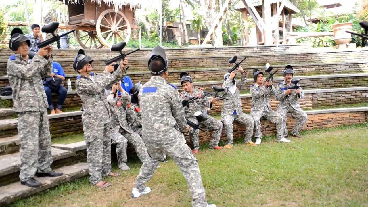 Paintball Reuni Pim 4 433 434 Kampoeng Djawi Youtube Kab