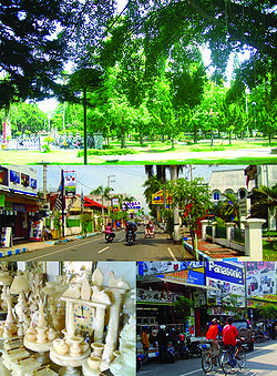 Tulungagung Regency Wikipedia Top Town Square Indonesian Alun Middle Sendang