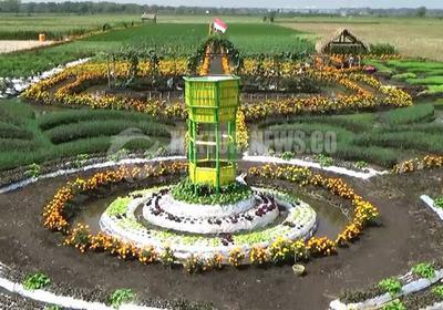 Taman Agro Jatim Jadi Destinasi Wisata Kabupaten Jombang Lahan Pertanian