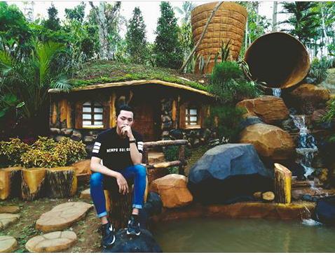 Taman Agro Wisata Jombang Jawa Timur Destinasi Rumah Hobbit Eco
