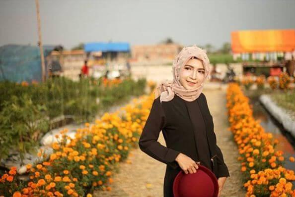 Temukan Keindahan Berbagai Bunga Cantik Taman Ponggok Jombang Banjarsari Bandarkedungmulyo