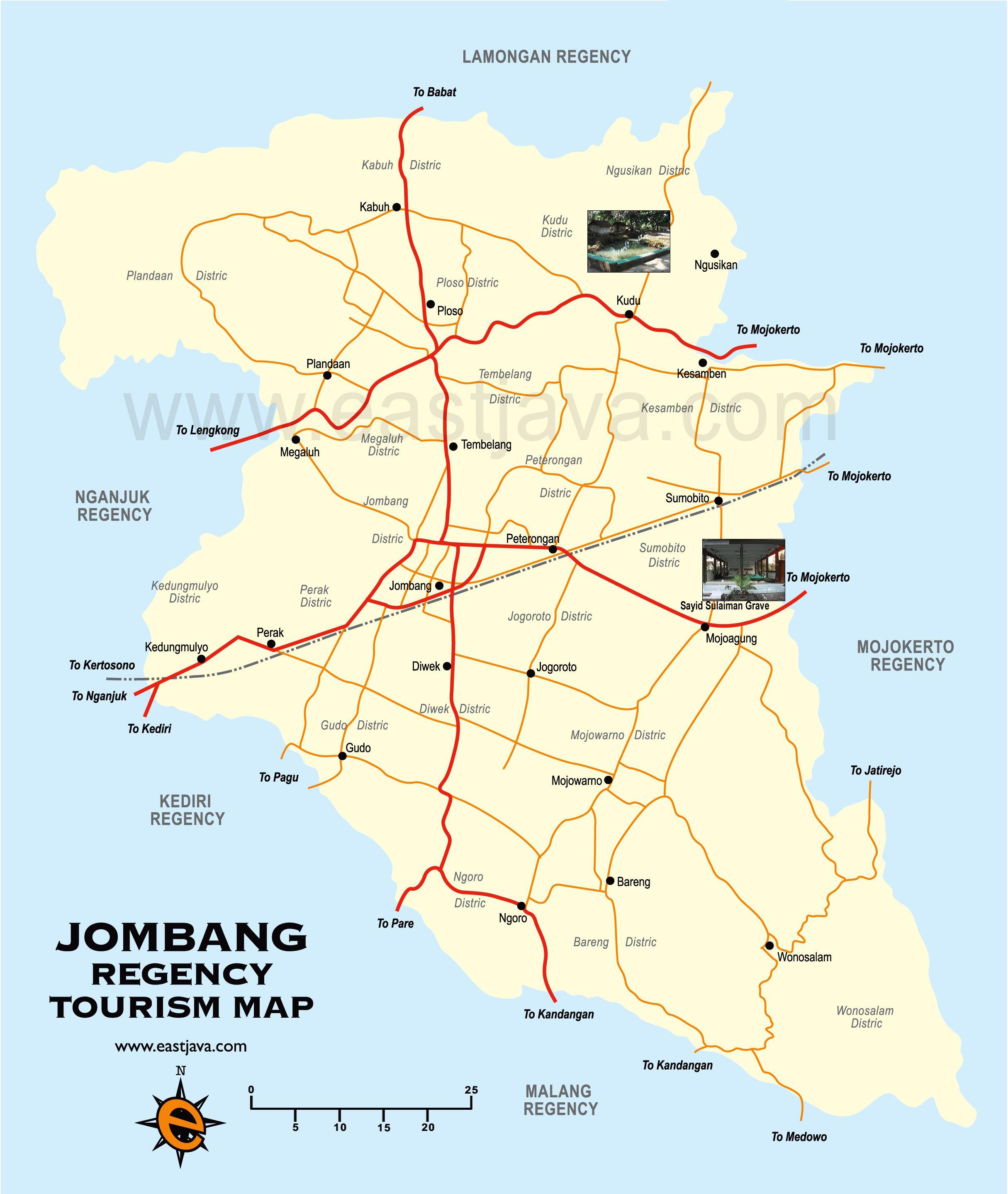 Kumpulan Tempat Wisata Jombang Jawa Timur Gambar Peta Lengkap Terbaru