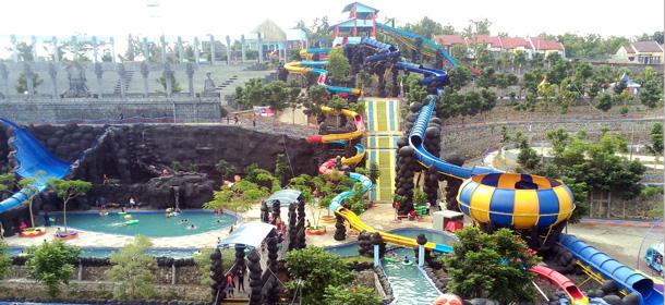 Majalah Scg Alternatif Wisata Keluarga Taman Tirta Kab Jombang
