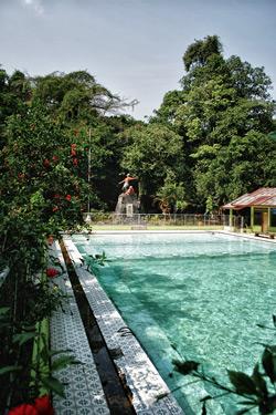 Sumber Boto Tourism Object Saves Beautiful Nature Panorama Wisata Taman
