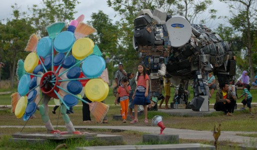 Taman Keplaksari Jombang Paradise Terletak Persis Disebelah Pintu Masuk Terminal