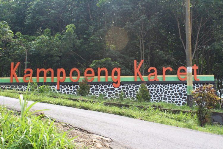 Agrowisata Kampung Karet Ngargoyoso Kampoeng Kab Karanganyar