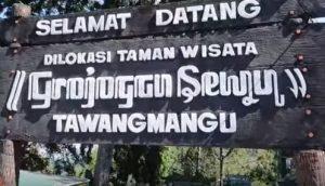 Destinasi Tempat Wisata Menarik Kabupaten Karanganyar Jawa Grojogan Sewu Tawangmangu