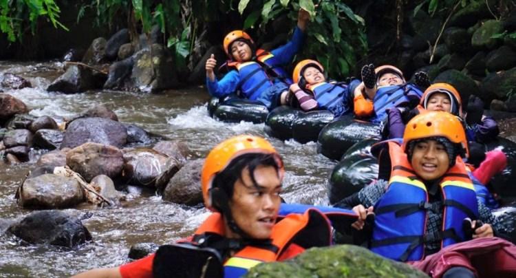 Tubing Kampoeng Waka Ngargoyoso Agrowisata Kampung Karet Kab Karanganyar