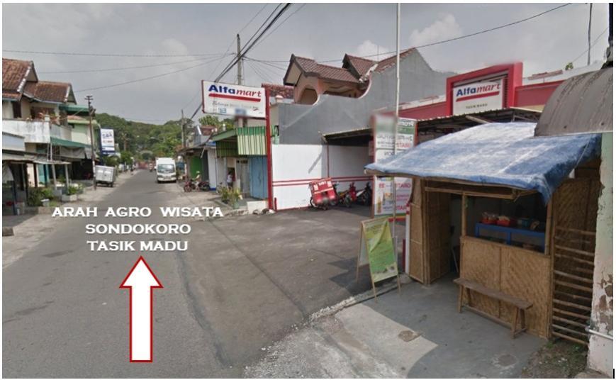 Tanah Dijual Jual Bangunan Dekat Agrowisata Sondokoro Pg Tasikmadu Alfamart