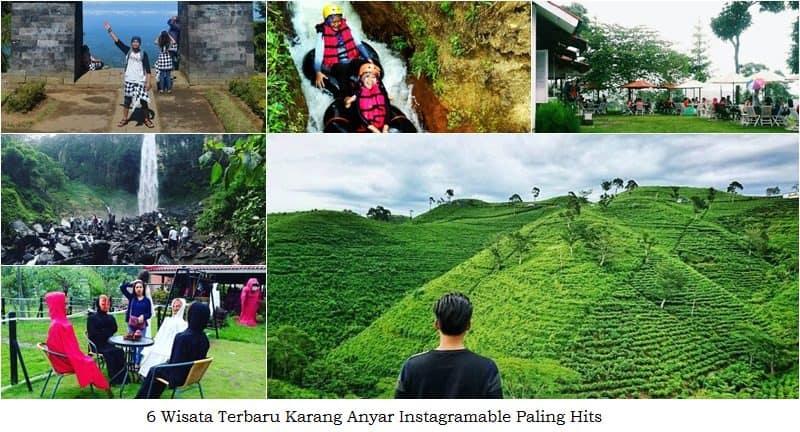 6 Wisata Terbaru Karang Anyar Instagramable Hits Jpg Grojogan Sewu
