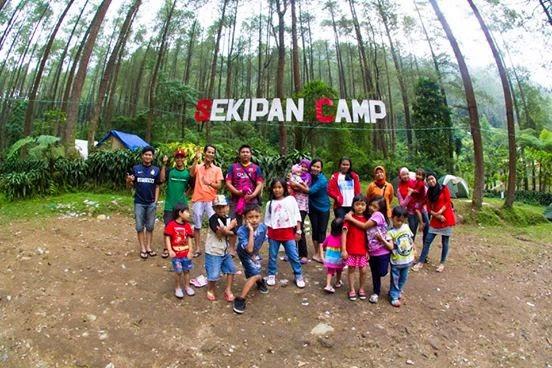 Blogspot Karanganyar Tenteram Camping Keluarga Sekipan Camp Tawangmangu Bersama Mengisi