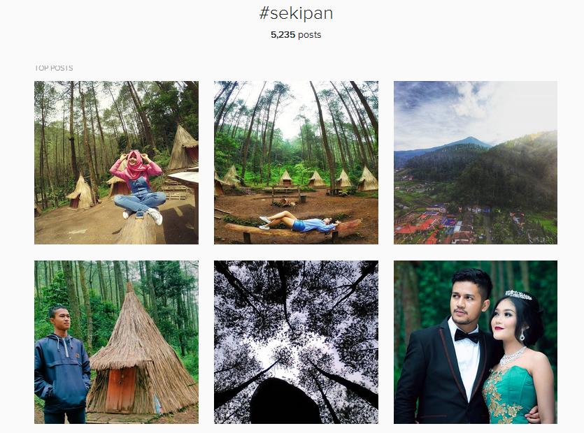 Bukit Sekipan Karanganyar Tempat Hits Buat Foto Selfie Intanpari Kabupaten