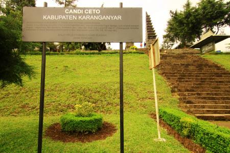 Candi Cetho Peninggalan Majapahit Karanganyar Jawa Tengah Sendiri Kerajaan Berada