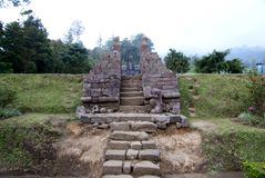 Cetho Temple Candi Located Karanganyar Java Indonesia Stock Photos Ceto