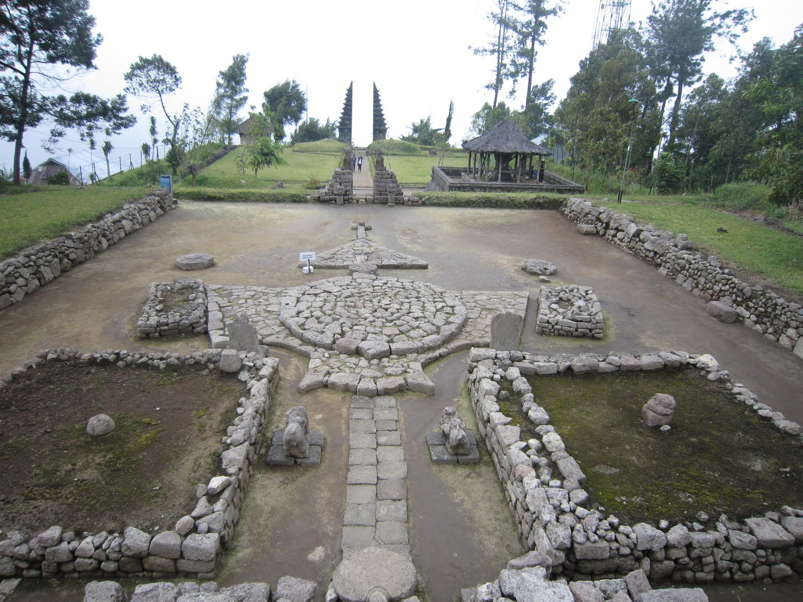 Cetho Temple Exotic Side Mount Lawu Central Java Candi Ceto