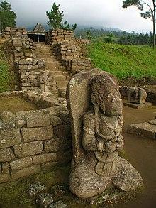 Ceto Temple Wikipedia Statue Main Courtyard Candi Kab Karanganyar
