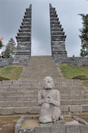 Eingang Zum Candi Ceto Picture Cetho Temple Solo Kab Karanganyar