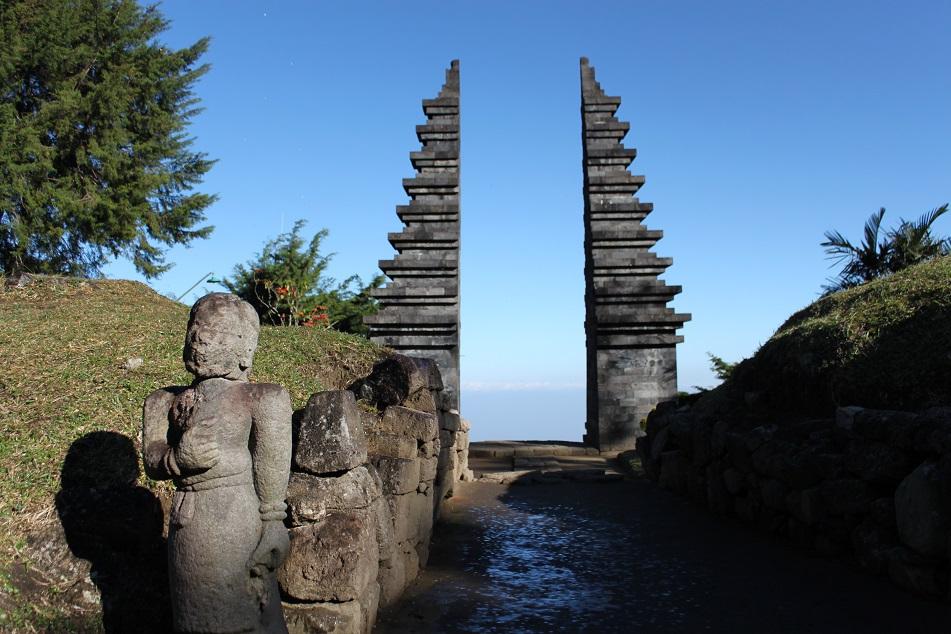 Candi Cetho Creation Remained Amazing World Kethek Kab Karanganyar