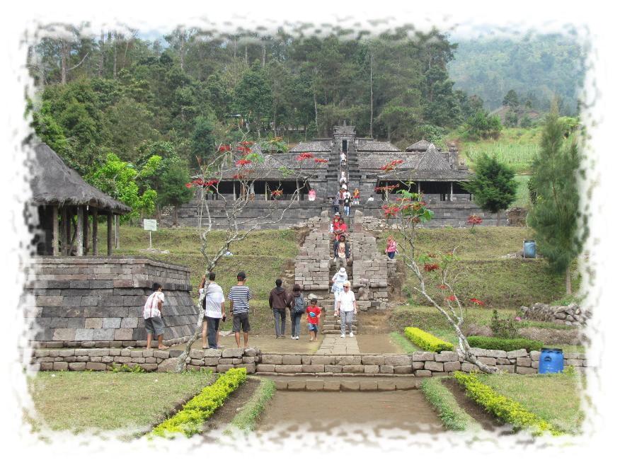 Candi Cetho Jejak Kejayaan Majapahit Pasraman Ganesha Berlokasi Desa Kelurahan