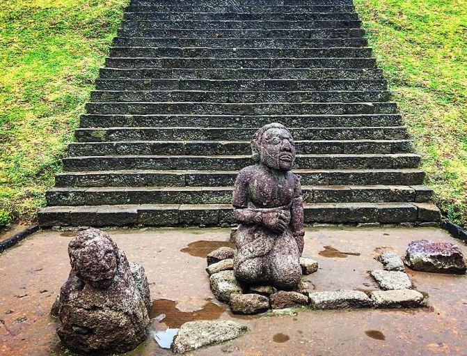 Candi Cetho Karanganyar Lokasi Sejarah Misteri Mitos Relief Patung Sukuh