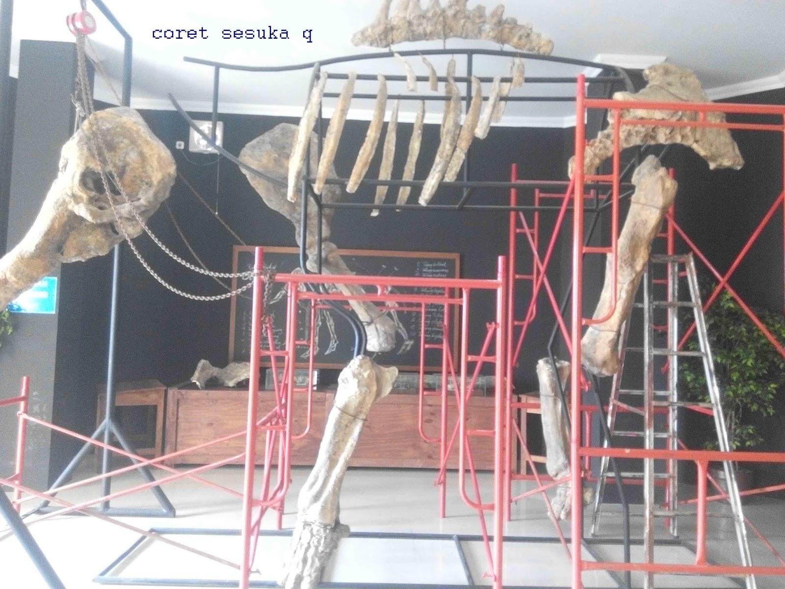 Museum Klaster Bukuran Ngebung Coret Sesuka Disini Ditemukan Fosil Binatang