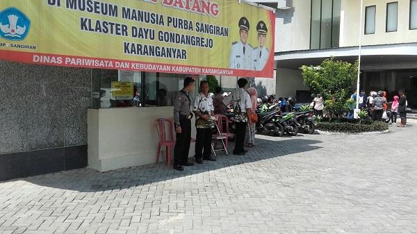 Polsek Gondangrejo Karanganyar Lakukan Pengamanan Museum Manusia Resor Jawa Tengah