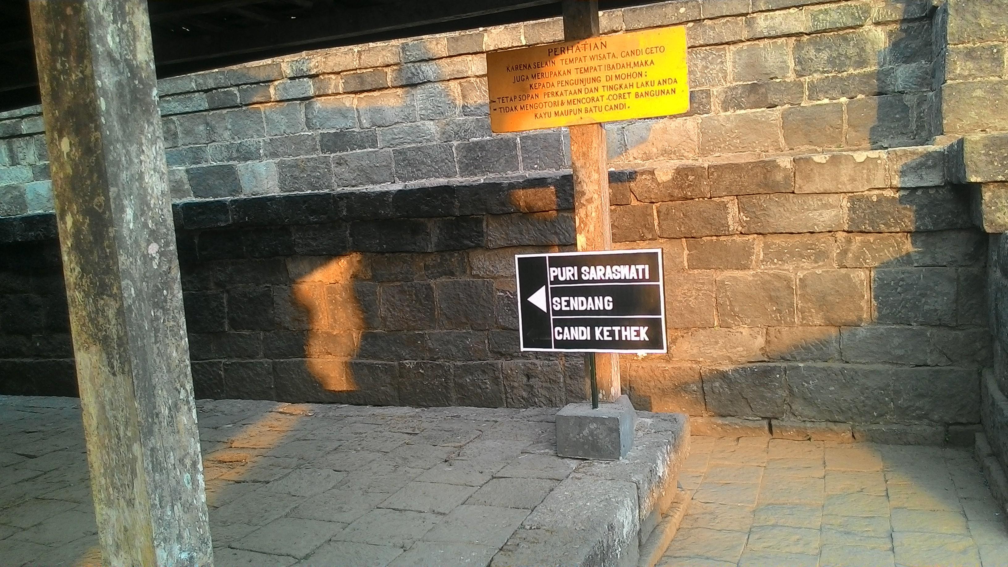 Candi Kethek Karanganyar Jawa Tengah Myrepro Teras 2 Cetho Puri