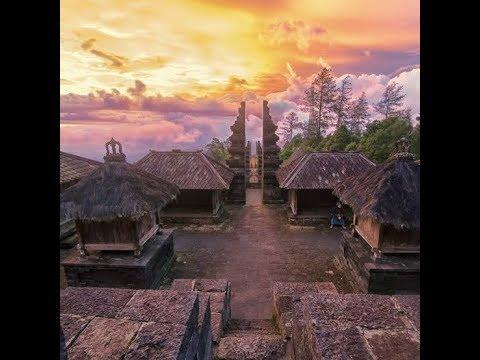 Karanganyar Sangar Candi Cetho Puri Taman Saraswati Youtube Kab