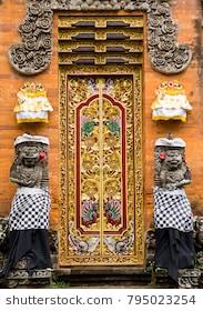 Saraswati Temple Images Stock Photos Vectors Shutterstock Pura Taman Ubud