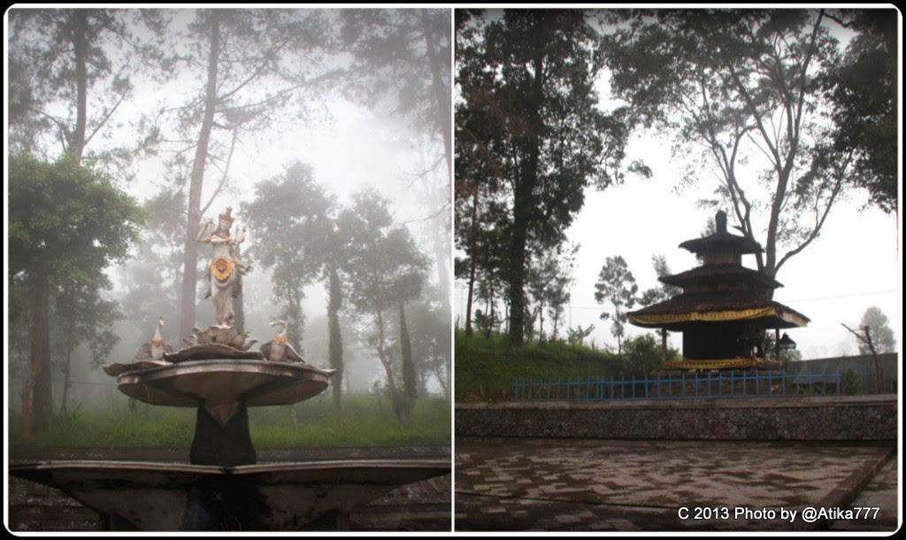 Sekar Rinonce Puri Taman Saraswati Dewi Ilmu Pengetahuan Seni Berkunjung