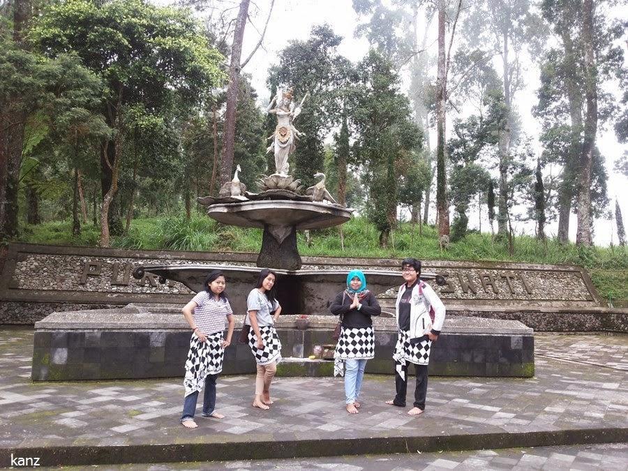 Wisata Alam Puri Taman Saraswati Karanganyar Keindahan Kab