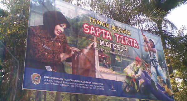 Indonesia Mercusuar Dunia Sapta Tirta Salah Satu Keajaiban Alam Objek