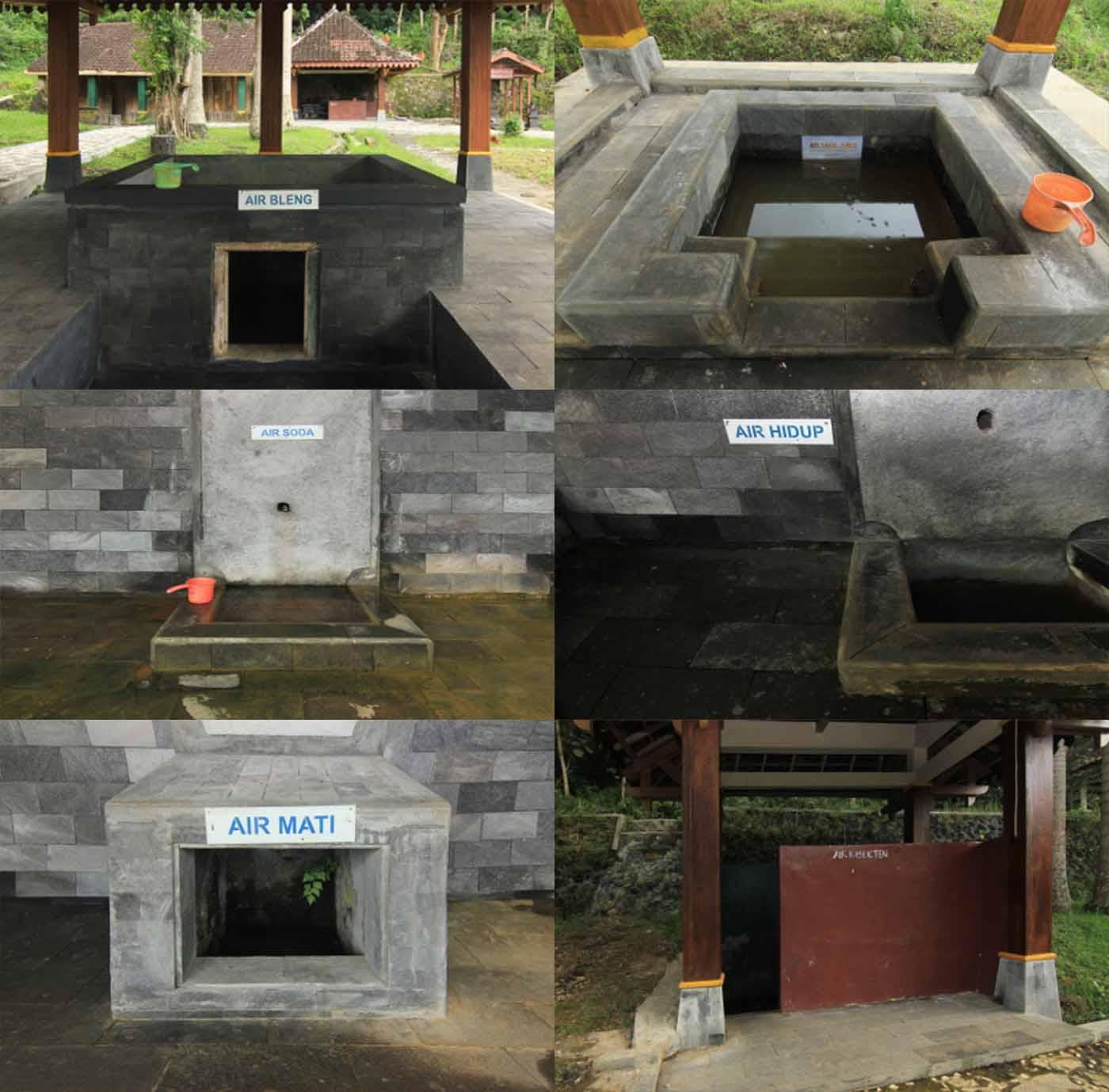 Sapta Tirta Pablengan Sumber Mata Air Karanganyar Jawa Tengah Kab