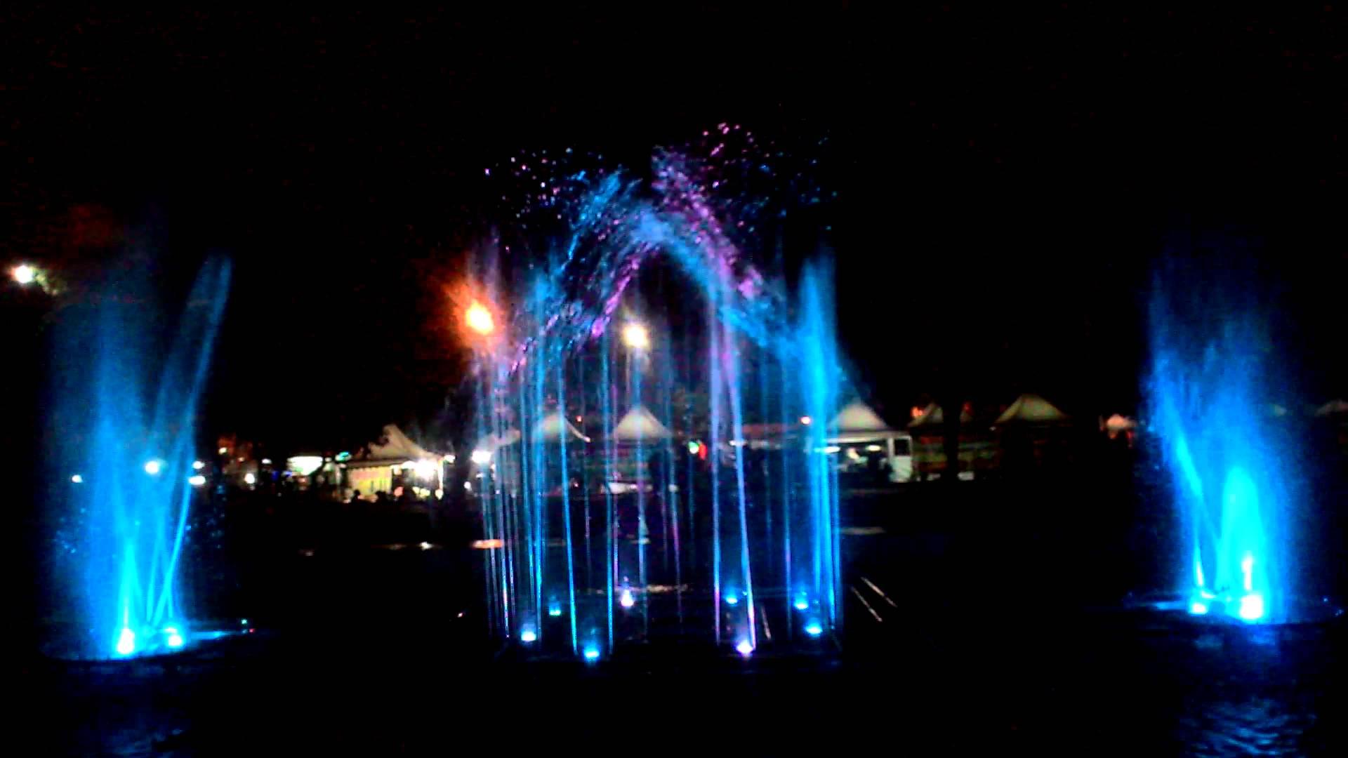 Air Mancur Karanganyar Stasiun Balapan Youtube Taman Laser Kab