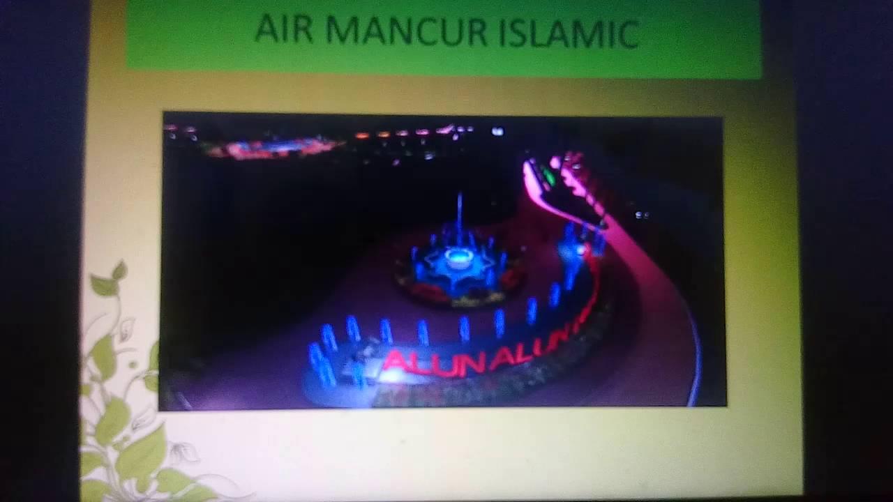 Desain Air Mancur Menari Alun Lumajang Youtube Taman Laser Kab