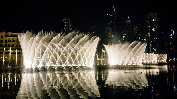 Gratis Gak Perlu Sampai Dubai Indonesia Pun Punya Pertunjukan Air
