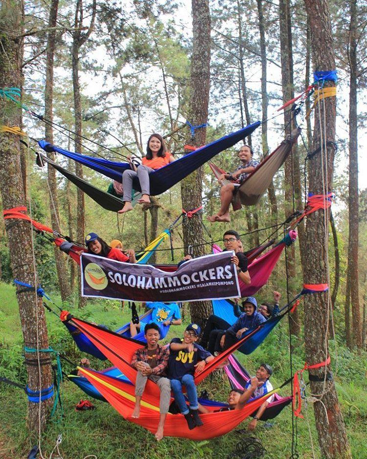 Obyek Wisata Tahura Mangkunegoro Karanganyar Jawa Tengah Tawangmangu Sekitar 28