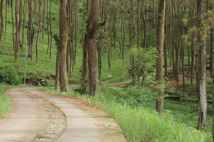 Seharian Tahura Karanganyar Nna Mariyana Travel Blog Akses Jalan Tengah