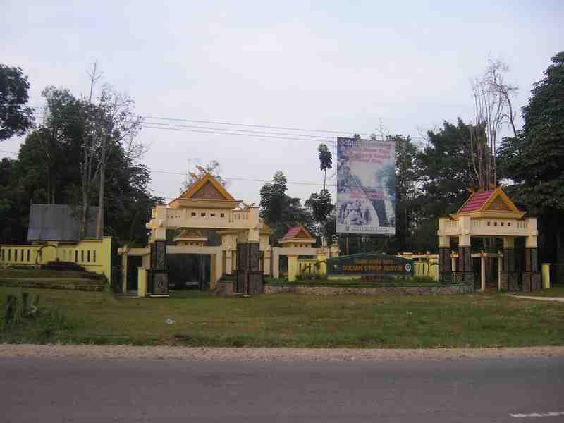 Taman Hutan Raya Indonesia Alamendah Blog Gerbang Sultan Syarif Hasyim