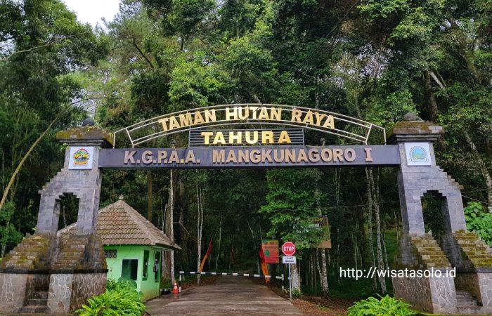 Wisata Alam Tahura Mangkunegoro Karanganyar Taman Hutan Raya Kab