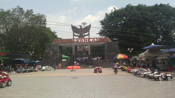Asal Usul Taman Pancasila Karanganyar Kelurahan Berada Pusat Kota Kabupaten