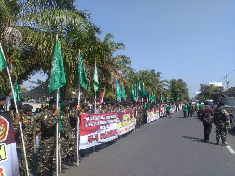 Gerakan Pemuda Ansor Tolak Hizbut Tahrir Indonesia Gp Kabupaten Karanganyar